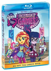 MY LITTLE PONY EQUESTRIA GIRLS: FRIENDSHIP GAMES DVD