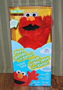 Play Today, Tomorrow and All Day with Elmo #NCGiftGuide2015