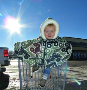 Safe and Secure with Cozy Car Seat Ponchos #NCGiftGuide2015