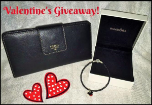 Valentines Day Giveaway with Pandora and Fossil! #WorldWide