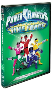 Power Rangers Time Force: The Complete Series (5-DVD box set) #GIVEAWAY