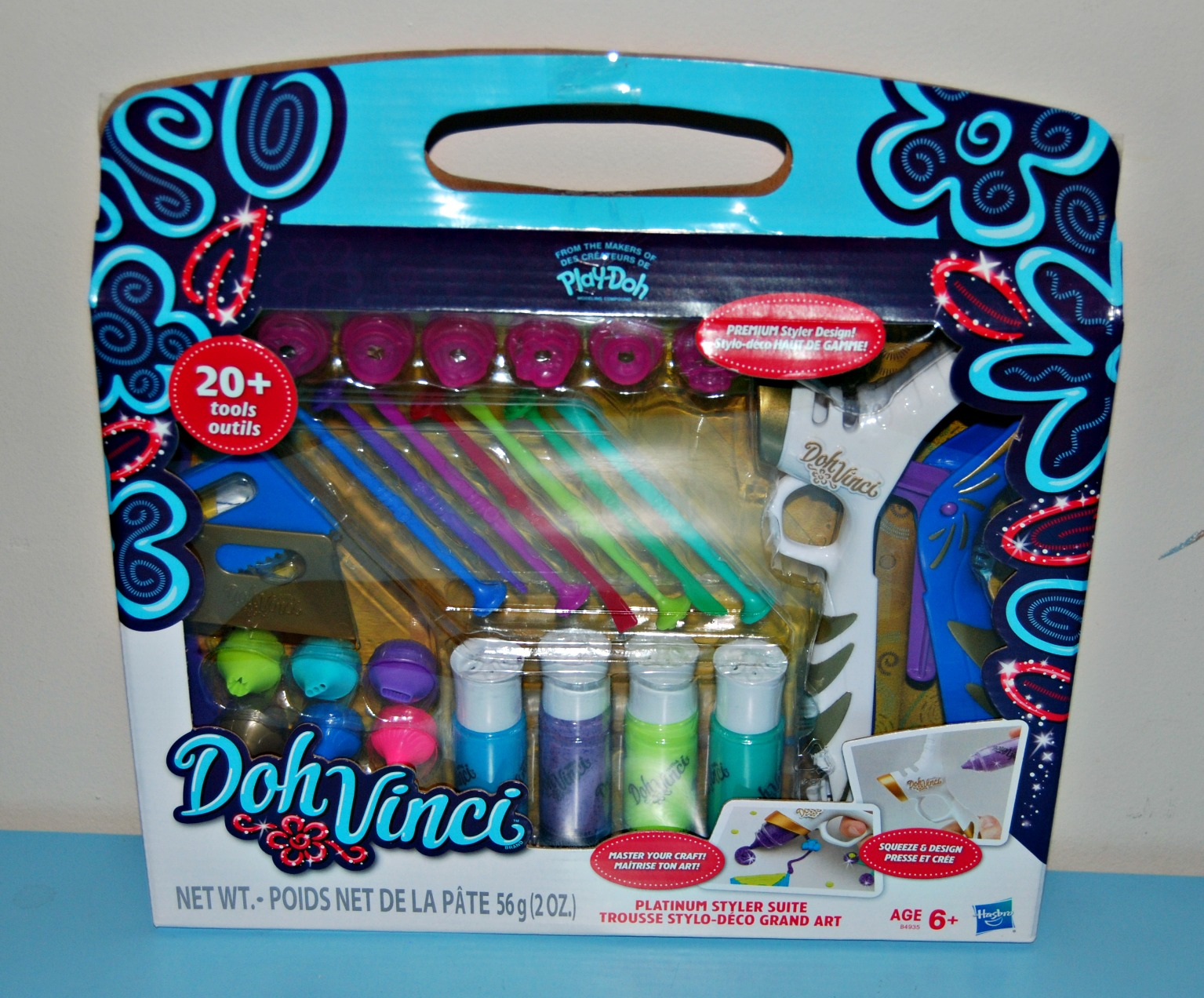 Play doh doh vinci platinum styler suite naturally cracked