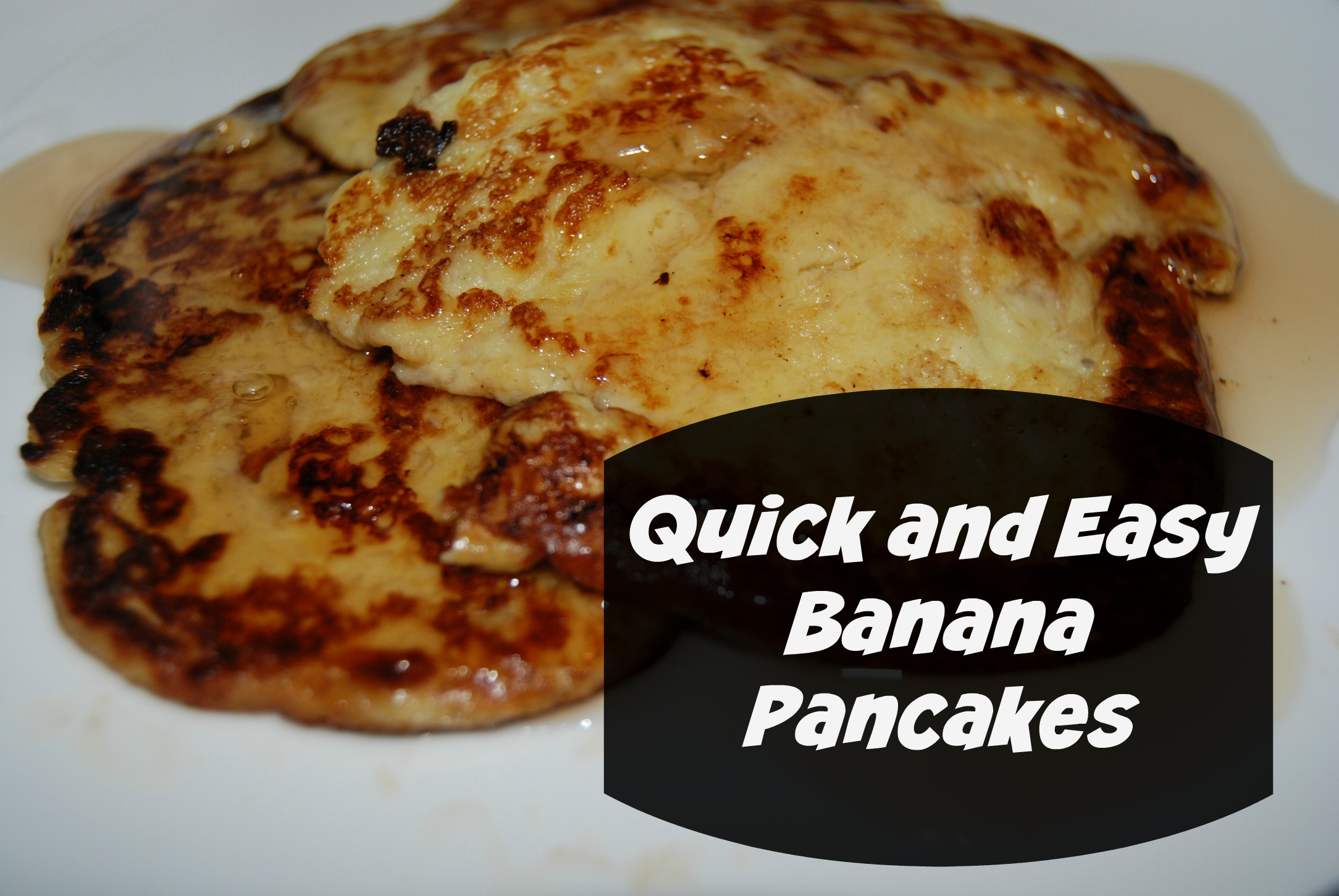 Quick and Easy Banana Pancakes #GluttenFree #Recipe - Naturally ...