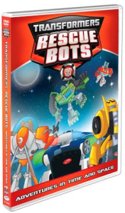 Transformer Rescue Bots: Adventures in Time and Space #DVD #GIVEAWAY