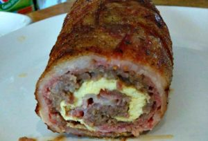 Smoked Breakfast Fatty #Recipe
