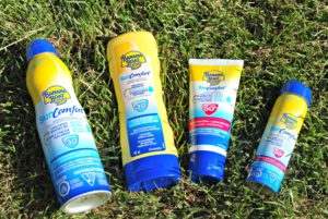 Hello Sun Protection – Good bye sticky sand with Banana Boat
