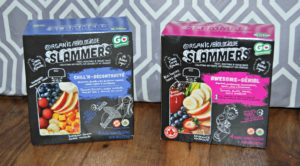 Slammers – Delicious and Nutritious Snack Pouches for Kids #GIVEAWAY