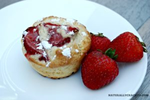 Scrumptious Strawberry Muffins #recipe