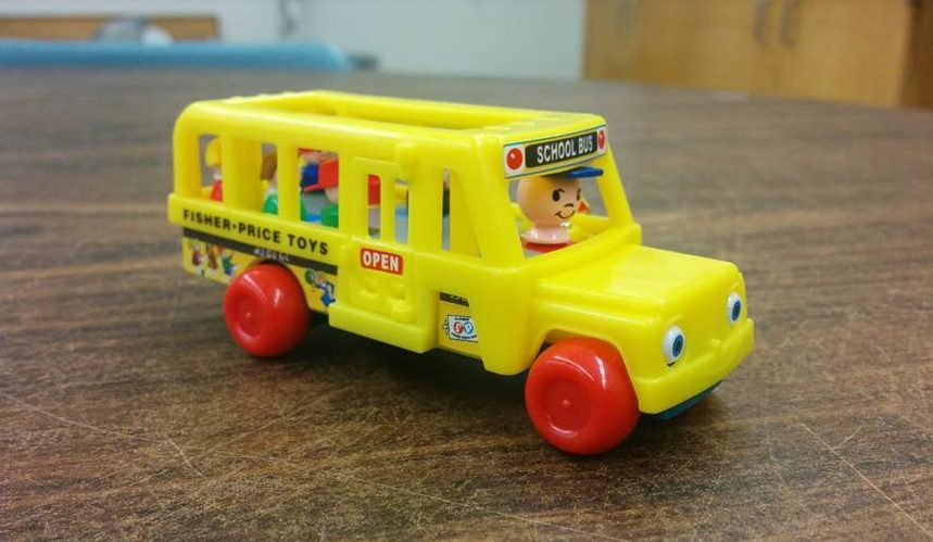 World's Smallest Fisher-Price Little People™ School Bus