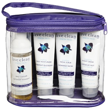 Live Clean - Travel Pack