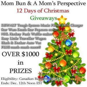 Mom Bun & A Mom's Perspective 18 Giveaways!