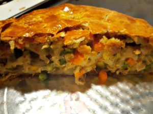 Yummy and Easy Turkey Pot Pie #Recipe