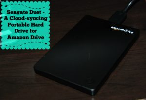 Seagate Duet – A Cloud-syncing Portable Hard Drive for Amazon Drive