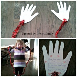 Kids DIY Craft – Mail A Valentine Hug