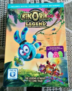 KIKORIKI: LEGEND OF THE GOLDEN DRAGON ON DVD #GIVEAWAY