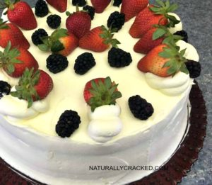 Berry Mascarpone Layer Cake #Recipe