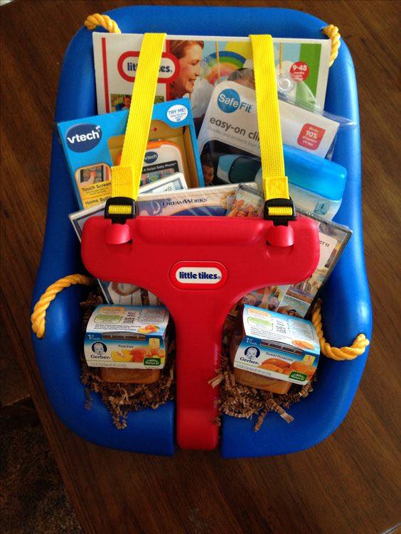 Easter Basket idea for a Baby
