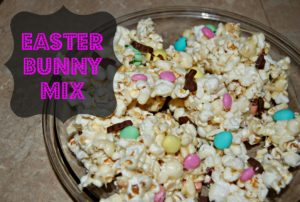 Easter Bunny Popcorn Mix