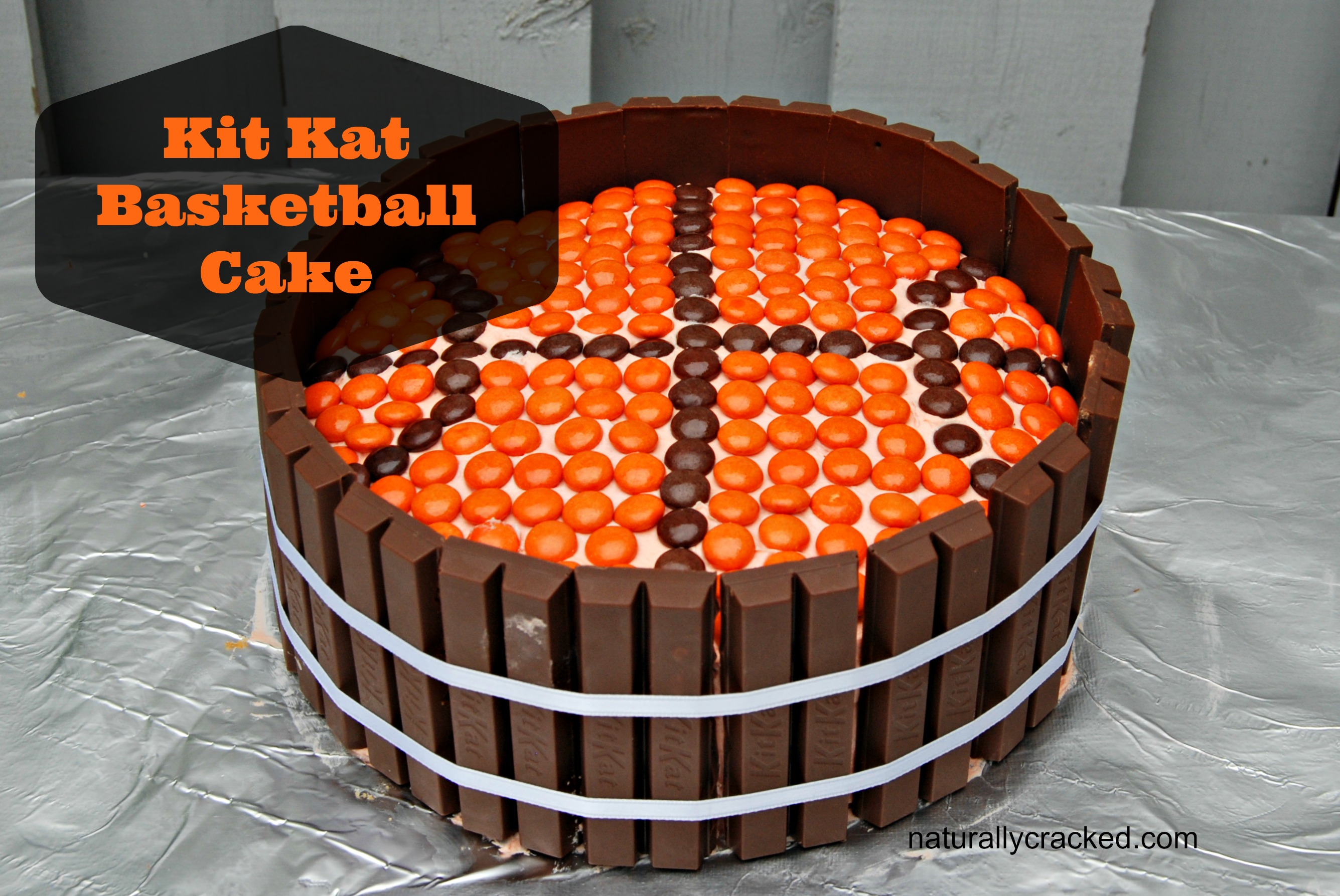 Basketball Cake Easy